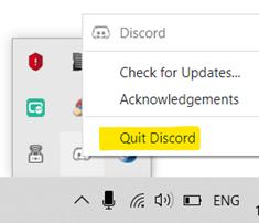 Discord Push to Talk